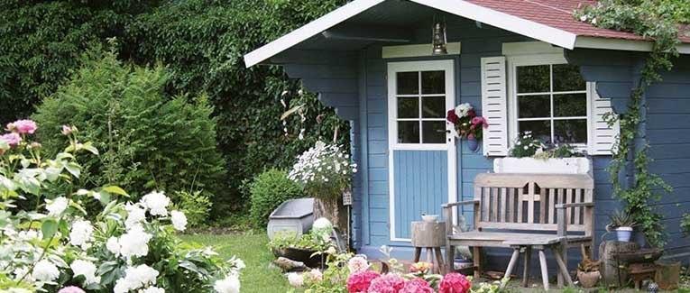 Beliebt Bevorzugt Vielseitige Gartenhäuser und Pavillons ☆ HolzLand Reichert @EB_55